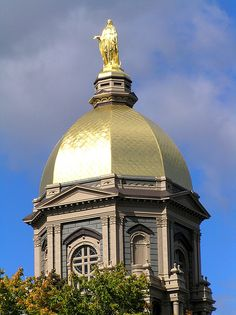 THE. Golden Dome University of Notre Dame.
