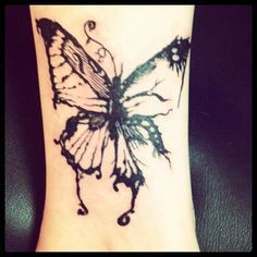butterfly inkfreakz com tattoo butterflies butterfly tat butterfly ...