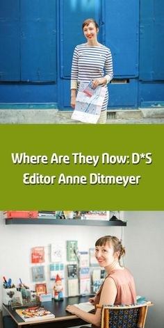 Im so excited that were getting an update from Anne Ditmeyer today! Anne has become such a star and we are all so envious of her beautiful and creative