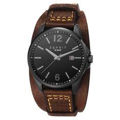 Esprit ES106911002 Tallac Cuff Brown horloge | Release 2013! http://www.kish.nl/Esprit-ES106911002-Tallac-Cuff-Brown/