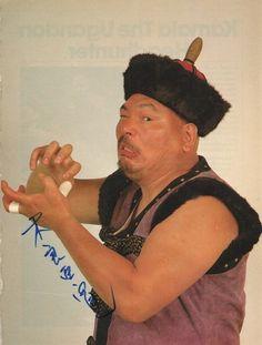 Killer Khan Hometown: Upper Mongolia Weight: 304Ibs