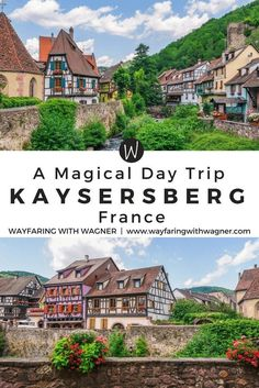 A short distance away from Colmar, take a magical day trip to the medieval town of Kaysersberg, France. Kaysersberg travel | Things To Do in Kaysersberg, France | Travel to Europe | European Travel #kaysersberg #europe #france
