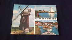 Colour Postcard Norfolk Broads With 13p QE2 Stamp