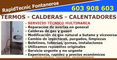 Reparación Calderas, Termos y Calentadores Barrio Centro, Gijón