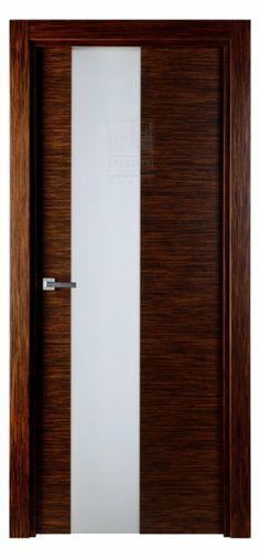 Grand 208 interior door in a mahogany finish exotic wood for Natural wood doors interior