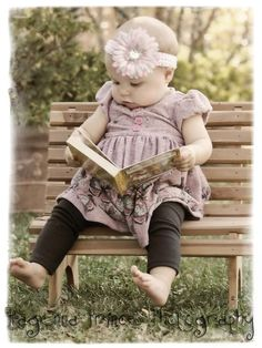 Books- She actually did love her books even as a toddler.