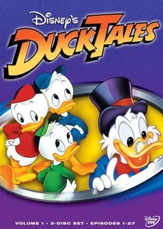 DuckTales (1987)-I remember watching DuckTales as a kid. Scrooge's nephews were such a handful :)