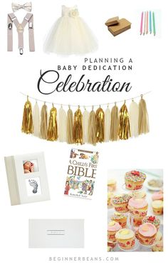 Planning a Baby Dedication Celebration | gifts, garlands, special outfits, and keepsakes