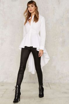HYH HAOYIHUI Solid White Women Long Sleeves Dovetail Femme Elegant Vintage Mujer Shirt Turn-Down Collar Streetwear Blouse ideen schwarz party ideen schwarz sommer ideen schwarz winter Creation Couture, Ruffle Shirt, Collar Blouse, White Casual, Mode Inspiration, White Women, Vintage Shirts, Shirt Outfit, Blouses For Women