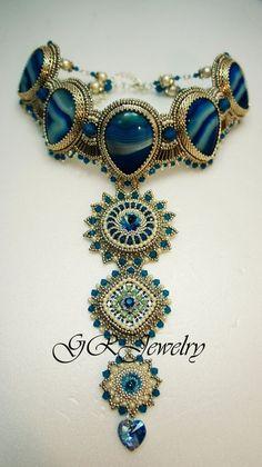 Izabella Choker - Guzialia   http://awesomewomensjewelry.blogspot.com
