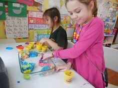 Play dough kid's craft