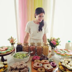 A Cereal & Donuts Bridal Shower