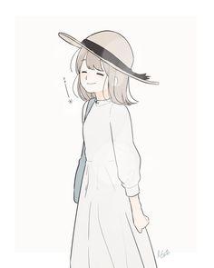 Kawaii Anime Girl, Anime Art Girl, Tmblr Girl, Chica Anime Manga, Korean Art, Cute Characters, Cute Illustration, Illustrations, Cute Drawings