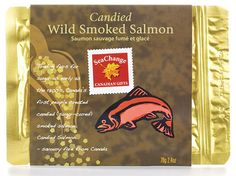 Sea Change Candied Wild Smoked Salmon!  Tried to order this but 23.00 just for shipping!  Needless to say I guess I'll never know how yummy this might be!
