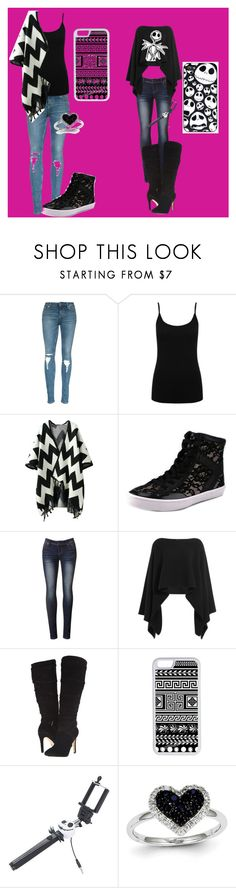 """""""<3"""" by klb12-love on Polyvore featuring M&Co, Rebecca Minkoff, Donna Karan, GUESS, CellPowerCases, Kevin Jewelers, women's clothing, women's fashion, women and female"""