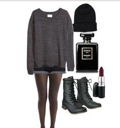 Dark outfit I made