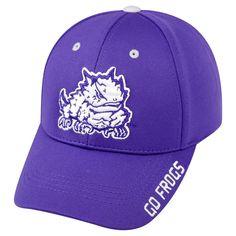 Baseball Hats NCAA Tcu Horned Frogs Team Color, Men's