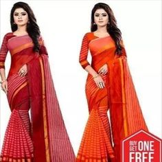 Buy One Get One Free!!: Best Selling Cotton Silk Sarees whats app 7999219541 Price: ₹550 Feel free to call us on +91-7999219541 if you need any help with ordering online. Thank you. #combos #delivery #combo #discount #sale #promo #fashion #shopping Banarasi Sarees, Silk Sarees, Satin Saree, Cotton Silk, Silk Satin, New Fashion Saree, Ethnic Gown, Fashion Seasons, Indian Sarees