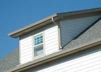 Shed dormers are easier to build and are less costly than gable dormers.