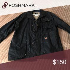 G star coat Navy blue , detail on shoulders and back. 3 pockets G-Star Jackets & Coats Lightweight & Shirt Jackets