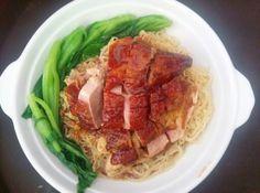 Roasted duck dry noodle - my kho vit quay