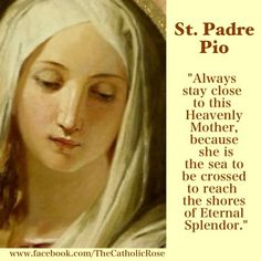 Our Lady of Sorrows- St. Padre Pio The Blessed Virgin Mary - Our Mother Catholic Religion, Catholic Quotes, Catholic Prayers, Catholic Saints, Roman Catholic, Catholic Mass, Blessed Mother Mary, Blessed Virgin Mary, Lord