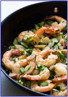 40 Ground turkey and Cauliflower Recipe #Ground #turkey #and #Cauliflower #Recipe Please Click Link To Find More Reference,,, ENJOY!! Best Shrimp Recipes, Linguine Recipes, Seafood Recipes, Shrimp Linguine, Shrimp And Asparagus, Asparagus Recipe, Asparagus Quiche, Asparagus Skillet, Garlic Shrimp