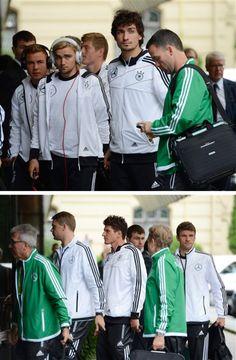 German National Football Team, Die Mannschaft. Mario Gomez, Mats Hummel, Thomas Muller, Manuel Neuer