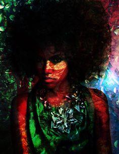 """Strong Black Women"" by  Ashley Tweety"
