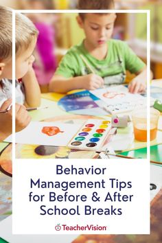 Learn all of our best behavior management tips in the classroom that are especially helpful for before and after school breaks! This teacher resource provides teacher strategies on how to handle the uptick of bad behaviors that tend to crop up before school vacation weeks. Elisa offers tips on how to maintain a strict morning routine so that the afternoons (especially) are a lot easier to manage. Behavior Management Strategies, Teaching Strategies, Teaching Tips, Management Tips, First Year Teachers, New Teachers, Classroom Discipline, School Vacation, Holiday Break