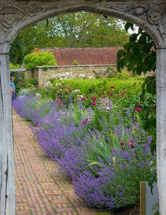 wanderthewood:  Barrington Court Garden, Somerset, England