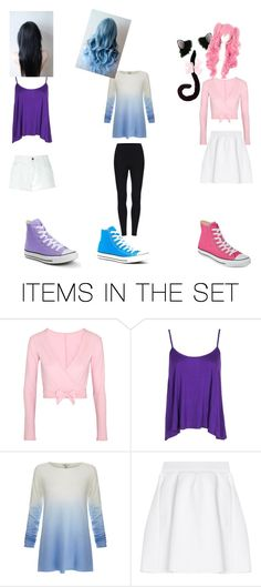 """Kawaii~chan,Katelyn and  Aphmau"" by rose-lover4ever on Polyvore featuring art"