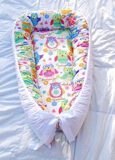 Leonora.fi: Babynest med ullstoppning på väg till sin nya ägar...
