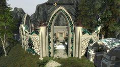 Elf Architecture Architecture Minecraft buildings Scenic