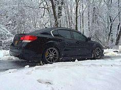 Subaru Legacy stanced