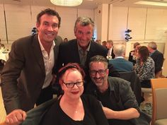Pat Cash with David Baddiel, Jo Brand and Tony Hawks at the Tennis For Free charity event. #jobrand #davidbaddiel #patcash #tonyhawks #tennis #charity #tennisforfree