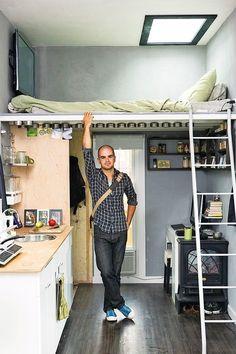 Ya adamın evi, senin holünden küçük ama tasarımı senin evinden 10 kat daha güzel.