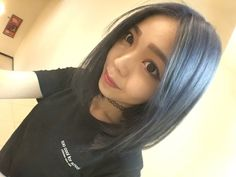 彰化 INN salon - Edison  Hair color  染髮:灰藍色。  為你打造專屬個人風格造型 ☎️04-7282820