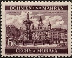 Stamps ©: Stamp of Bohemia and Moravia (Czechoslovakia; Czech Republic, Doodle Art, Postage Stamps, Wwii, Postcards, Germany, Poster, Landscape, World
