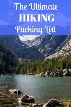 If you're going hiking this year, you'll want to be prepared! Here's the ultimate hiking packing list to ensure you have everything you need to hit the trails.