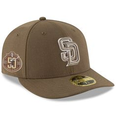 best service 47a91 cb2d9 Men s San Diego Padres New Era Brown 50th Anniversary Authentic Collection  On-Field Low Profile 59FIFTY Fitted Hat, Your Price   39.99