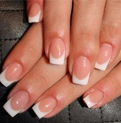 A twist on the French manicure