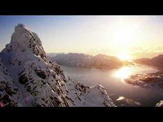 Aksel Lund Svindal, Henrik Windstedt and friends visit Lofoten for three days of sheer powder paradise. Swiss Ski, Ski Club, Go Skiing, Norway Travel, Lofoten, World's Most Beautiful, Fishing Villages, Ski And Snowboard, Lund