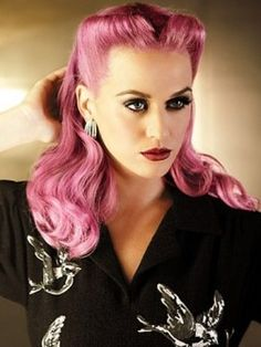 Fierce   Katy Perry meets Tyra Banks. But in Pink. Well, you know what I mean.