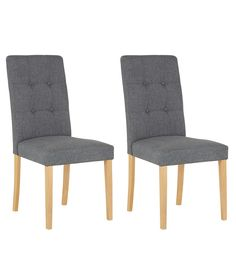 Buy Adaline Pair of Oak Effect Dining Chairs at Argos co uk   YourPinterest   The world s catalog of ideas. Adaline Walnut Extendable Dining Table And 6 Chairs. Home Design Ideas