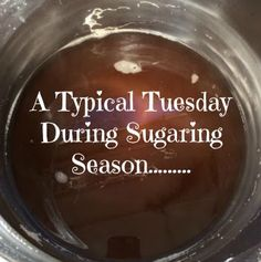"""The (mis)Adventures of a """"Born Again"""" Farm Girl: A Typical Tuesday During Sugaring Season"""