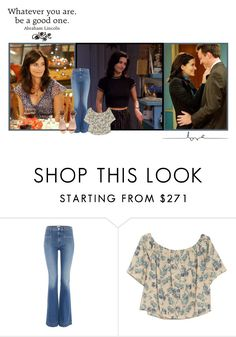 """☀Monica Geller☀ //Glenn Rhee"" by polyvore-fangirls ❤ liked on Polyvore featuring Hudson Jeans, OTTE, H&M and brithaniescreations"