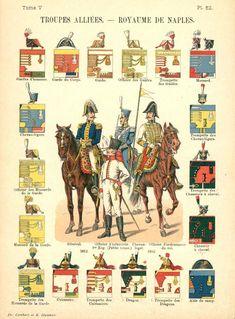 Неаполитанское королевство. Союзные войска. Uniformes de I'Armee Francaise 1690-1894 Lienhart & Humbert