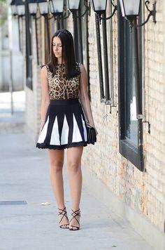 Get the look – onça + p&B por Fashion Hall | Fashion Hall em novembro 13, 2013
