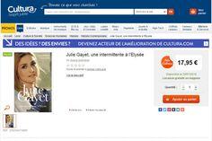 Julie Gayet: ce que révèle le mystérieux livre sur son histoire avec François Hollande